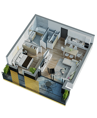 Appartements - Shoebox C